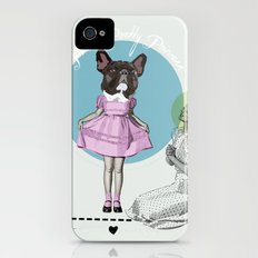 Pretty Chauncey Princess - French Bulldog iPhone (4, 4s) Slim Case