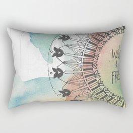 Young Wild & Free Rectangular Pillow