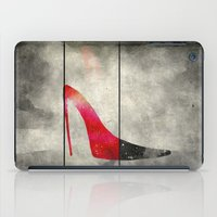 shoe iPad Cases featuring Painted Shoe by V.L. Durand
