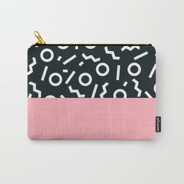 Memphis pattern 50 Carry-All Pouch