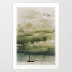 Traveller II Art Print