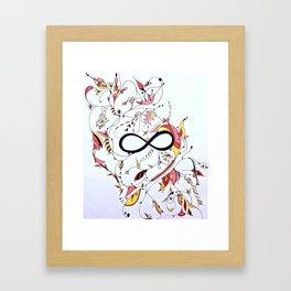 Infinity Garden Framed Art Print