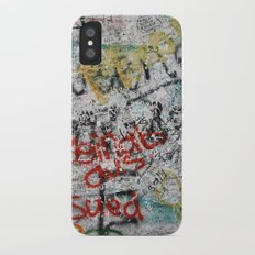 berlin wall Slim Case iPhone X