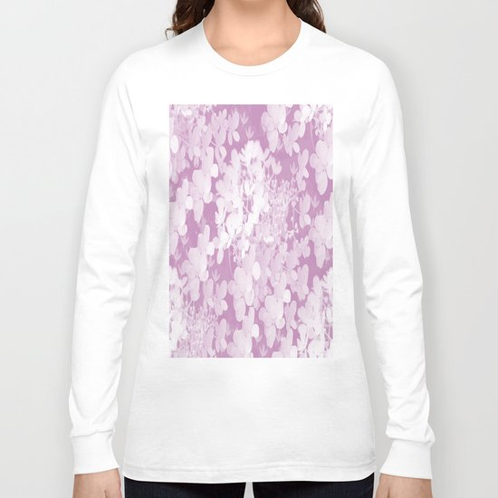 Little Flowers in Pastel colors Long Sleeve T-shirt