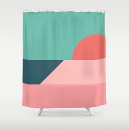 Sunseeker 11 Shower Curtain