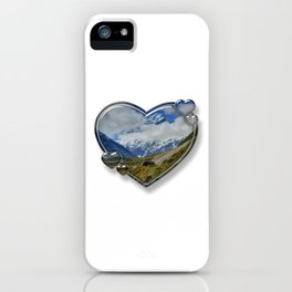 I Love New Zealand iPhone Case