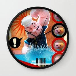 COLLAGE: Revolution Wall Clock