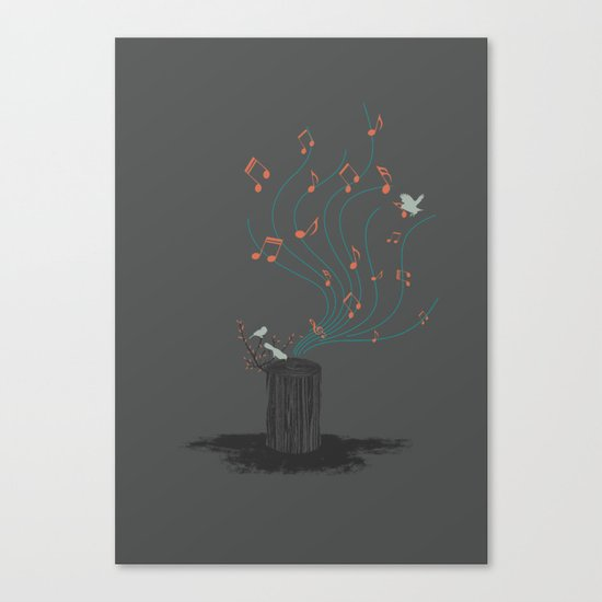 Song of Nature Canvas Print