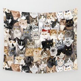 Catmina 2017 - FOUR Wall Tapestry