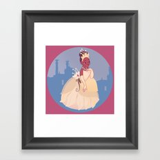 The Princess of the Frogs Framed Art Print