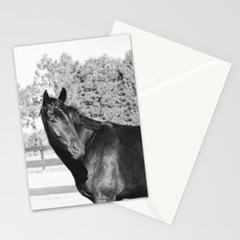 Black & White Bubba Stationery Cards