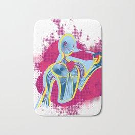 Music - Heart (Life) Bath Mat