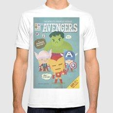 avengers fan art White MEDIUM Mens Fitted Tee