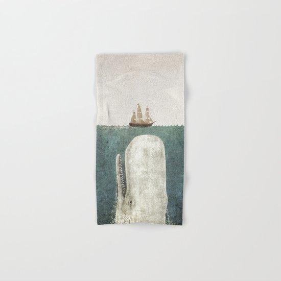 The Whale - vintage option Hand & Bath Towel