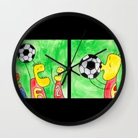 wedding Wall Clocks featuring Wedding by Bakal Evgeny