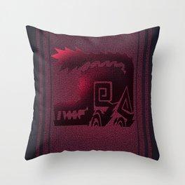 Monster Hunter - Odogaron Banner Throw Pillow
