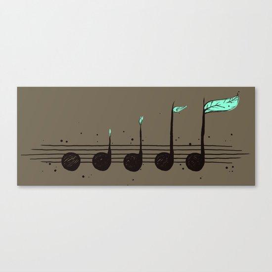 Biosphere Orchestra Canvas Print