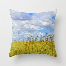 Clouded Sky Throw Pillow