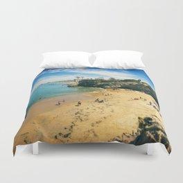Playful Shores Duvet Cover