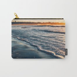 Sunrise Walk on the Beach Carry-All Pouch