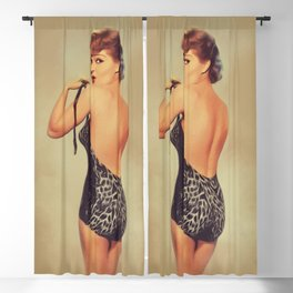 Claire Kelly, Vintage Actress Blackout Curtain