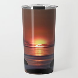 Shock-wave Sunset Travel Mug