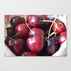 The cherry on top Canvas Print