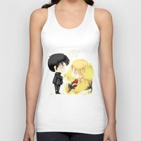 ouat Tank Tops featuring OUAT - Buttercup Princess by Yorlenisama