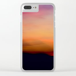 Afterglow II Clear iPhone Case