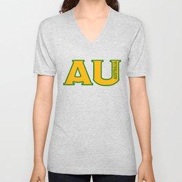 Abbreviated Australia Unisex V-Neck