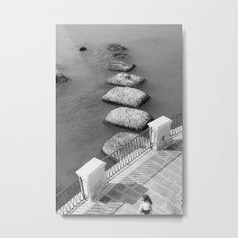 Promenade Ortigia Metal Print