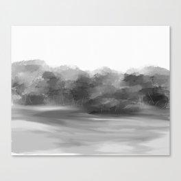 Grey Trees Canvas Print