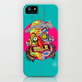 AscoltoPensaRidi iPhone Case