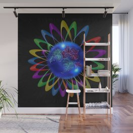 Abstract in Perfection - Rose 3 Wall Mural