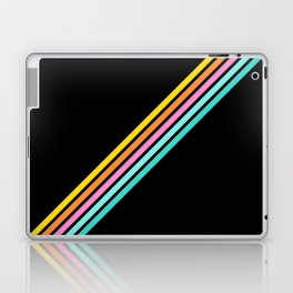 Minimal Abstract Retro Stripes 80s Style - Bakunawa Laptop & iPad Skin