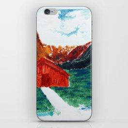 Una casita iPhone Skin