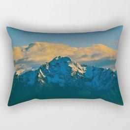 Pioneer Peak - Mat-Su Valley Rectangular Pillow
