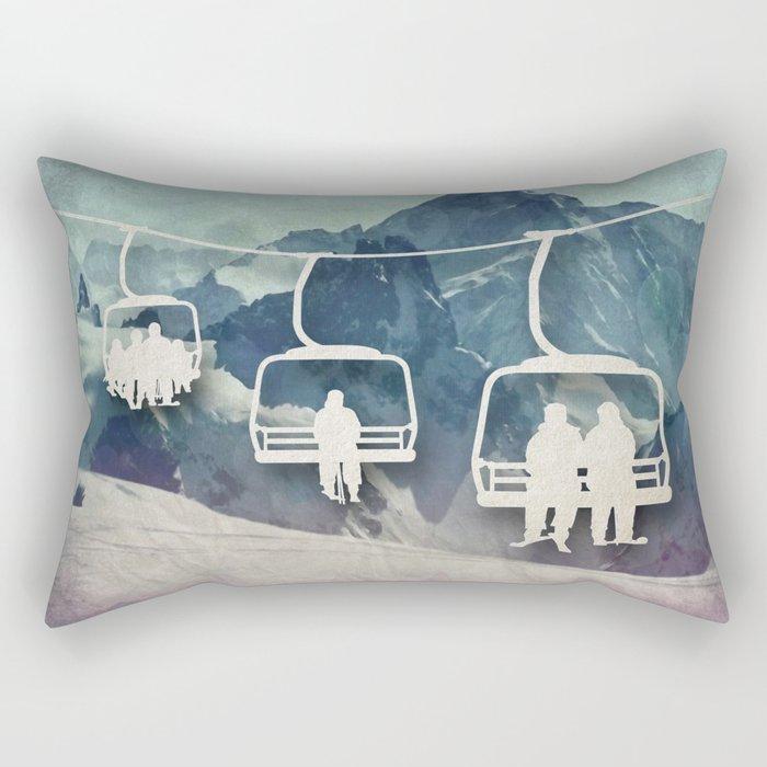 Lift Me Up Rectangular Pillow
