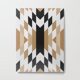 Geometric Art with Bands 02 Metal Print
