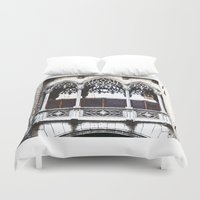 bridge Duvet Covers featuring Bridge by Sony Purba