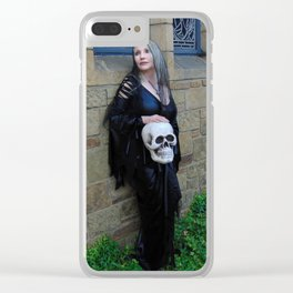 Skull Works Clear iPhone Case