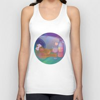 drunk Tank Tops featuring Drunk Cat by Graphic Tabby