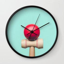 Kendama Wall Clock