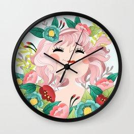Miss joie Wall Clock