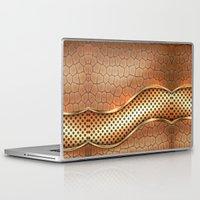 anaconda Laptop & iPad Skins featuring Blingin Anaconda by Robin Curtiss