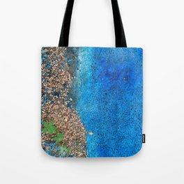 NVSV SPCS_blue asphalt Tote Bag