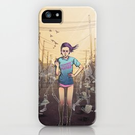 Everything I touch gets ruined iPhone Case