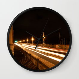 Lion's Bridge Wall Clock