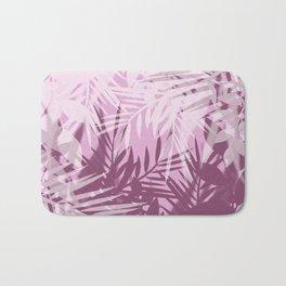Pink tropical background Bath Mat