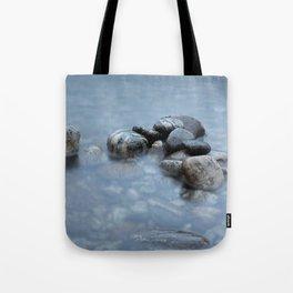 stones in the water in norway Tote Bag